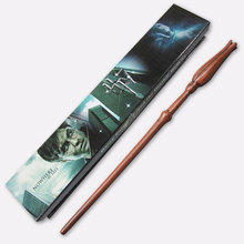 Harry Potter Magic Wand  Deathly Hallows Hogwarts Gift HERMIONE  Voldemort  Wand 29 KINDS With Box(China (Mainland))