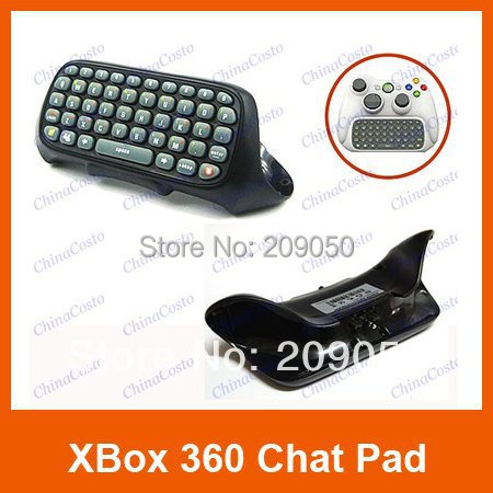 Controller Keyboard Keypad,Chat pad Messenger Kit Keyboard  for  Xbox 360 Live Controller Black