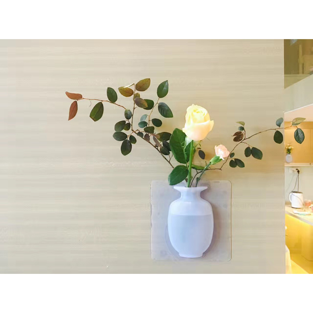 Silicone Magic Designer Home Decor - Plants Sunflower Flower Small Hanging Wall Vase Sconces