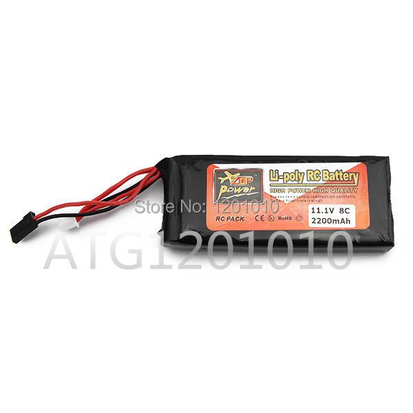 Здесь можно купить  ZOP Power lipo Battery 11.1v 2200mAh 3S 3PK for RC Airplane/ Boat/ Car Toy Part LiPolymer Cell  Игрушки и Хобби