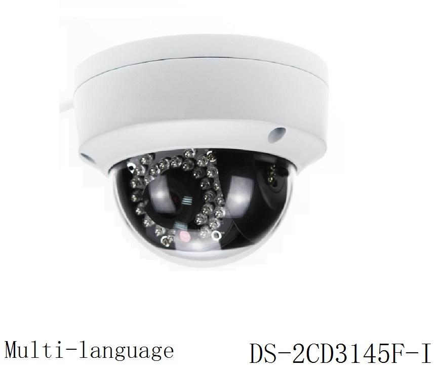 Multi-language Version 2CD3145F-I 4MP CCTV Dome IP Camera H.265 Support PoE IR Video Surveillance Security Camera<br><br>Aliexpress