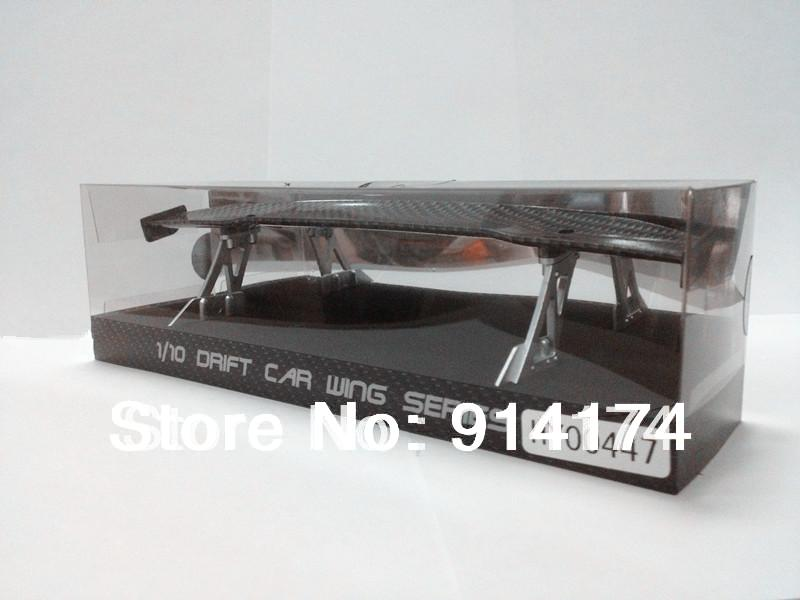 1/10 RC Car accessories 1/10 RC drift car wing set series /spoiler free shipping(China (Mainland))
