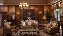 oak antique furniture antique style sofa luxury home furniture baroque sofa european style furniture sofa set factory direct(China (Mainland))