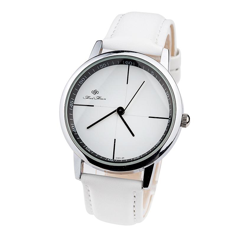 High quality Quartz Leather Wrist Bracelet Fashion Women Watch Ladies Wristwatch men casual watch- FP002(China (Mainland))