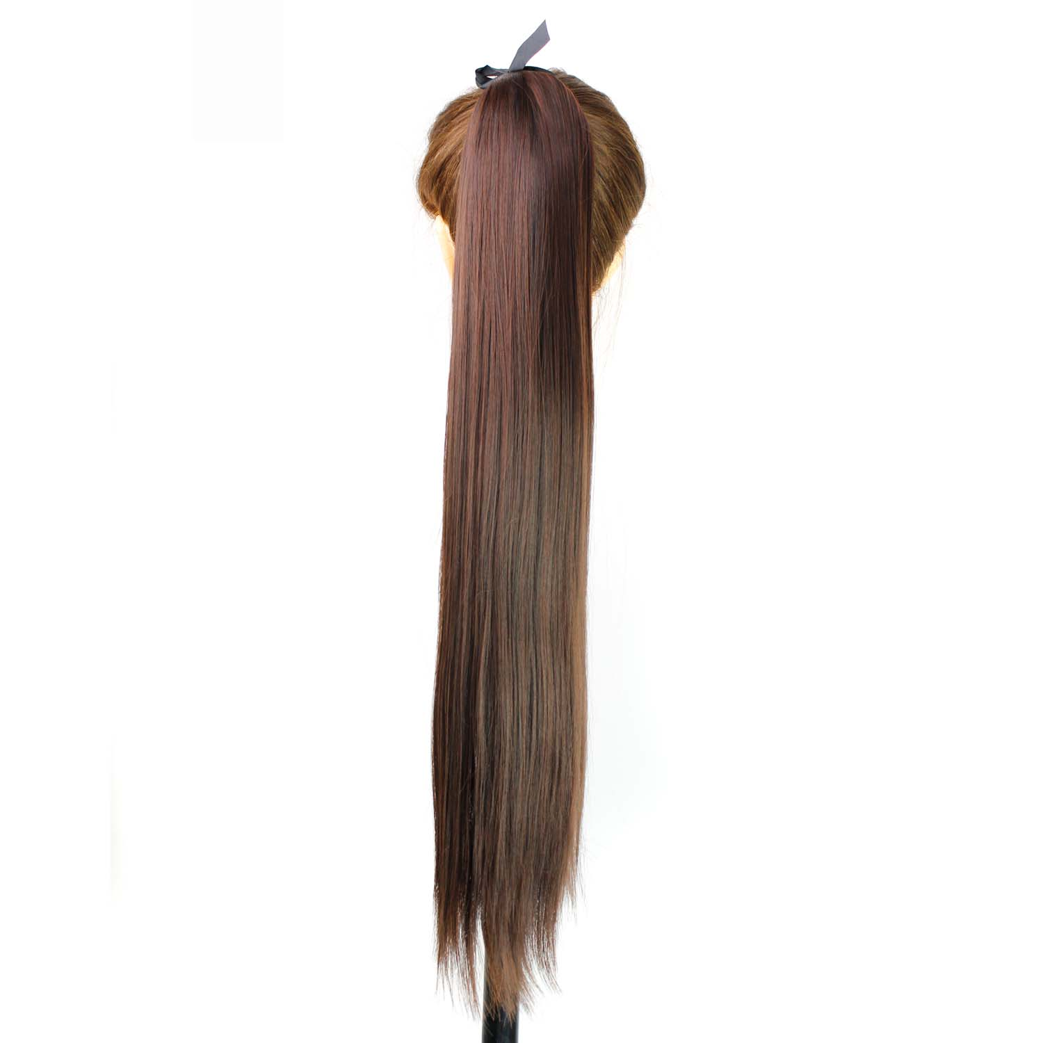 22Long Straight Synthetic Apply Hair Ponytail Clips in Pony Tails Hairpiece Ribbon Ponytails Hair Extensions Fake Hair Piece<br><br>Aliexpress