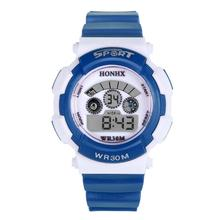 Hot Marketing Waterproof Children Boy Digital LED Quartz Alarm Date Sports Wrist Watch Jun7(China (Mainland))