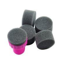 HOTSALE Sponge Nail Art Kit for nail stamp tool ,Nail Art Paint Stencil for nail art  + freeship