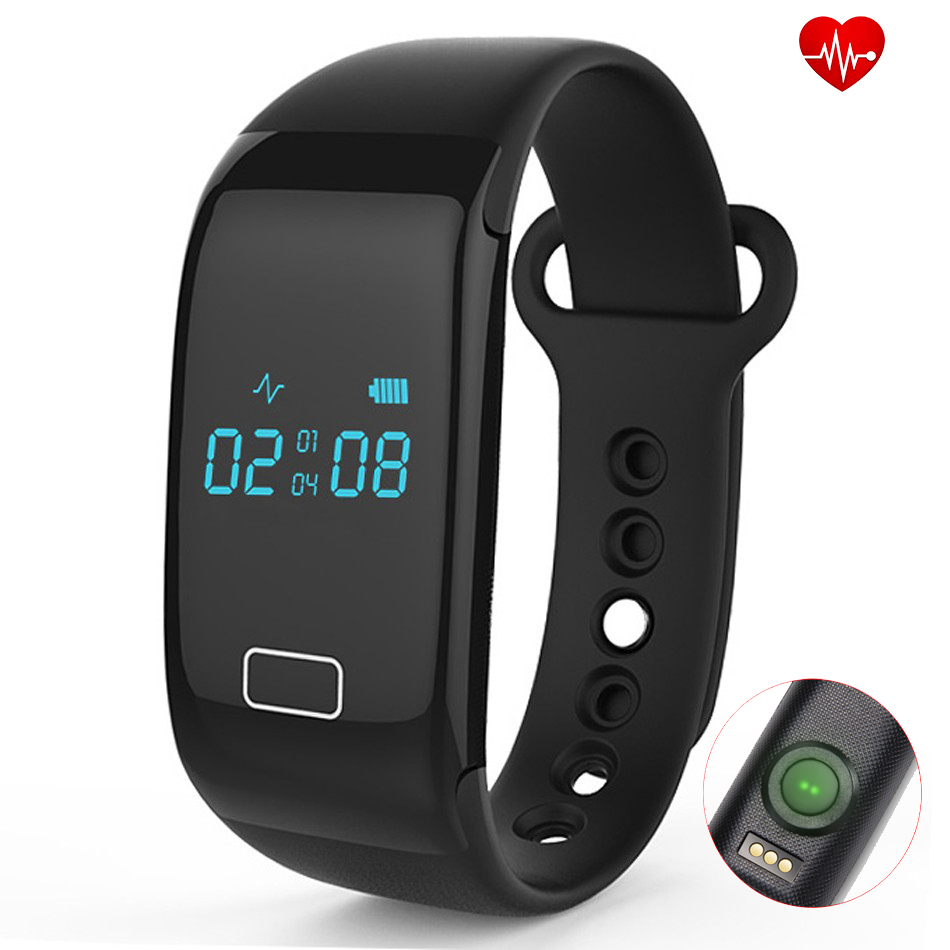 Original JW018 BT4.0 Smart Band Bracelet Heart Rate Monitor Smartband Activity Fitness Tracker Wristband for IOS Android Phones(China (Mainland))