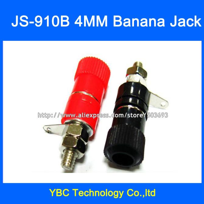 Free Shipping 20pcs/lot JS-910B 4mm Binding Post Banana Jack Terminals Terminal Block<br><br>Aliexpress