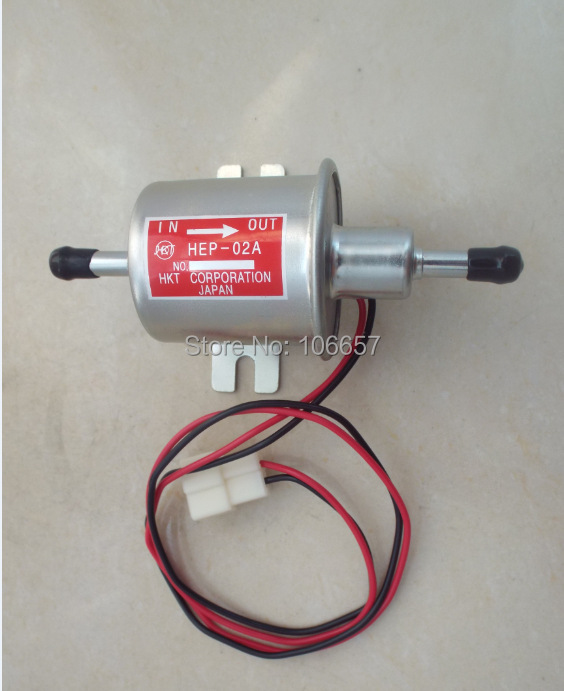FOR SALE !Universalm Electric 12v Fuel Pumps low pressure fuel pump HEP-02A For Carburetor,Motorcycle,ATV <br><br>Aliexpress