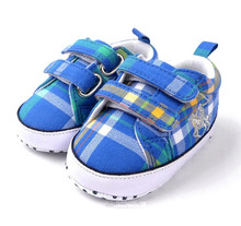 Baby Striped Grid Shoes Soft Sole Infant Firstwalkers for Toddlers Boy Girl Spring Autumn Fashion Sneakers Drop Free Shipping(China (Mainland))