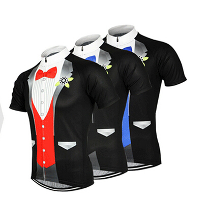 ARSUXEO Men Dinner Jacket Style Cycling Bike Bicycle Clothing Tops Breathable Mountain Road Bike MTB Short Sleeve Sport Jersey(China (Mainland))