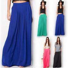 Moderná dlhá sukňa v rôzných farbách