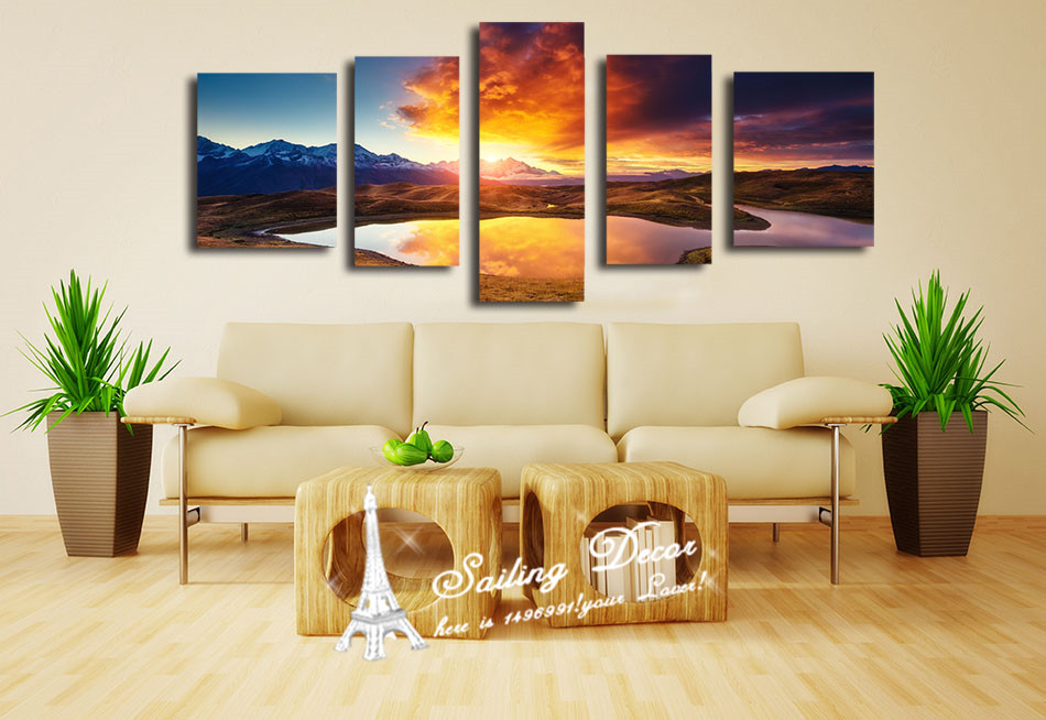 Home Decor Printed Standard Size Canvas Paintings New