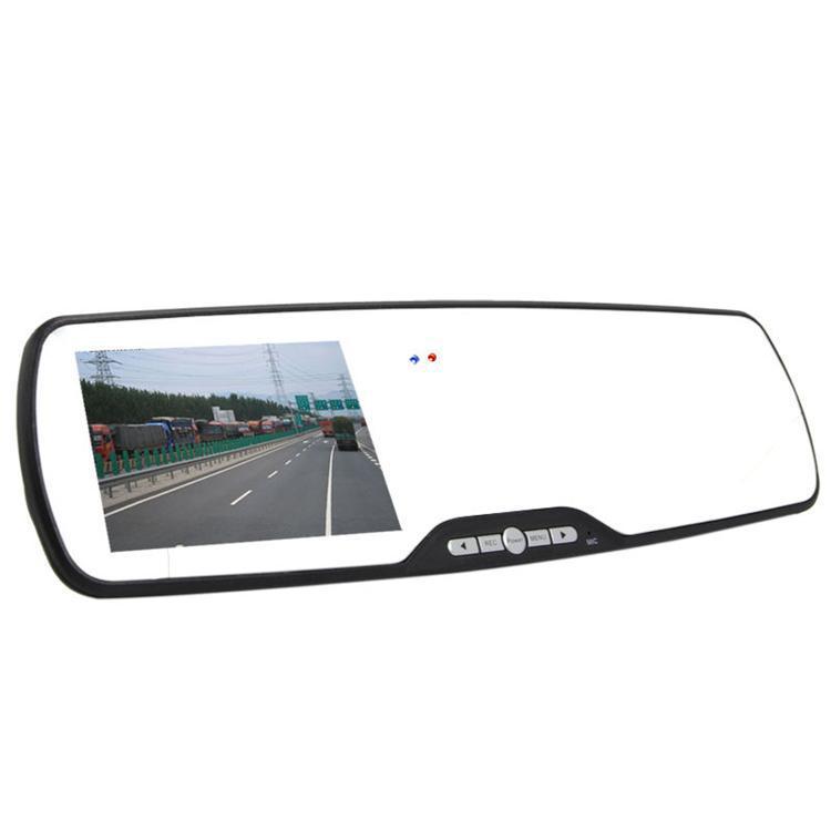 "2.7"" Car Camera Rearview Mirror Dash Cam Vehicle Car DVR Video Recorder 1920*1080P FHD + DDR 64MB Sup multi-language(China (Mainland))"