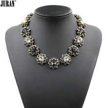 Buy 2017 New JC design women bib collar trendy fashion crystal necklaces & pendants costume choker chunky statement Necklace for $8.60 in AliExpress store