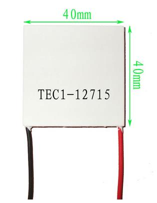 1pcs/lot X Free shipping TEC1 12715 TEC1 12715 136.8W 12V-15.4V 15A TEC Thermoelectric Cooler Peltier (TEC1-12715)(China (Mainland))
