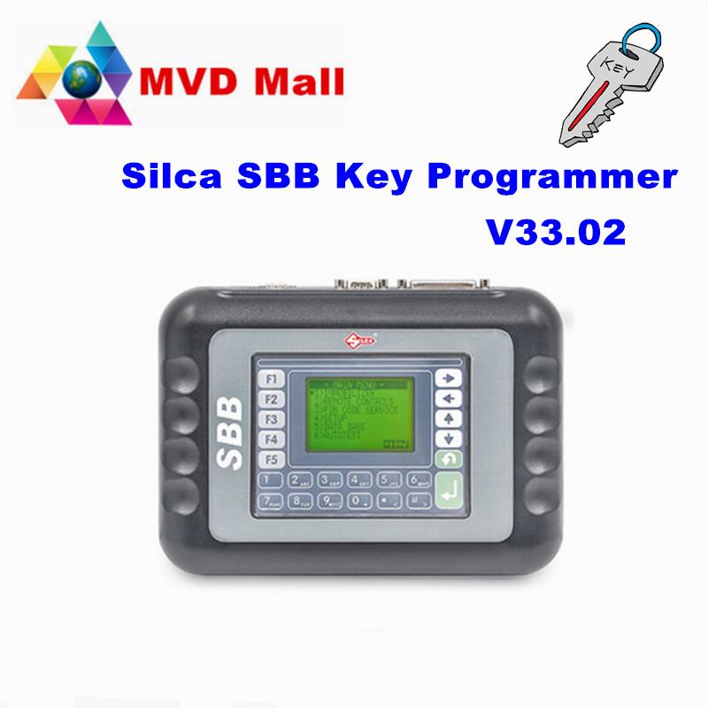Top Quality Silca SBB V33.02 Key programmer Wholesale Price Support Multi Brands SBB Key Programmer Immobilizer Transponder(China (Mainland))