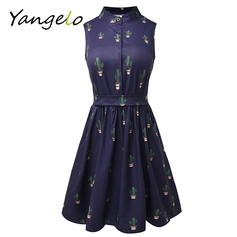 Summer dress 2017 Women Dress flamingo dress Fun Flare flamingo Prints Casual High Waist Cute A Line Mini Dresses(China (Mainland))
