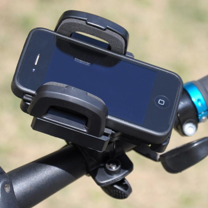 Universal mobile phone bicycle stand Holder 360 degree rotation mountain bike navigation stent Stander for iPhone Samsung(China (Mainland))