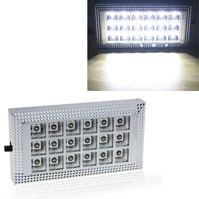 18 LED 12V Car Van Bus Interior Ceiling Dome Roof Light Lamp Bright White Lighting(China (Mainland))