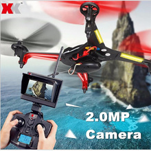 XK X250A X250-A Gyro 5.8G 4CH 6-Axis Real-Time Video FPV Drone UFO RC Quadcopter With 2.0MP HD Camera Headless Mode Helicopter