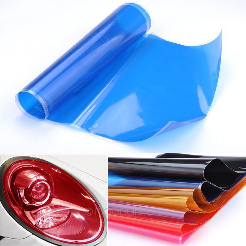 30cm x 60cm Styling Auto Car Smoke Fog Light Headlight Taillight Tint Vinyl Film Free Shipping 1MHM481#A5(China (Mainland))