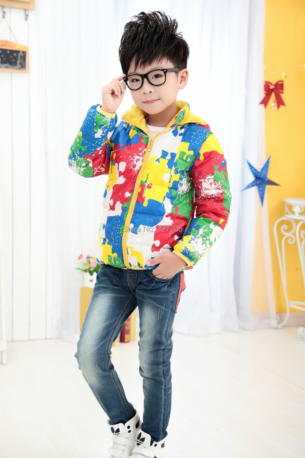 2015 new children boy down coats winter duck down jackets outerwear Multicolor fashion kids clothing jacket(China (Mainland))