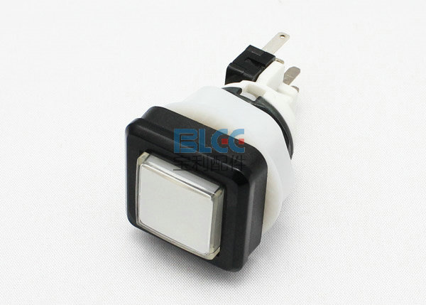 50 pcs 27 x 27 button with switch and led lamp/slot machine button/casino game pushbutton for Casino machine/Slot Game Machine(China (Mainland))