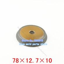 Muela de diamante con aleación de acero de tungsteno broca adecuado para el 13 máquina de corona dentada molienda. 78 * 12.7 * 10
