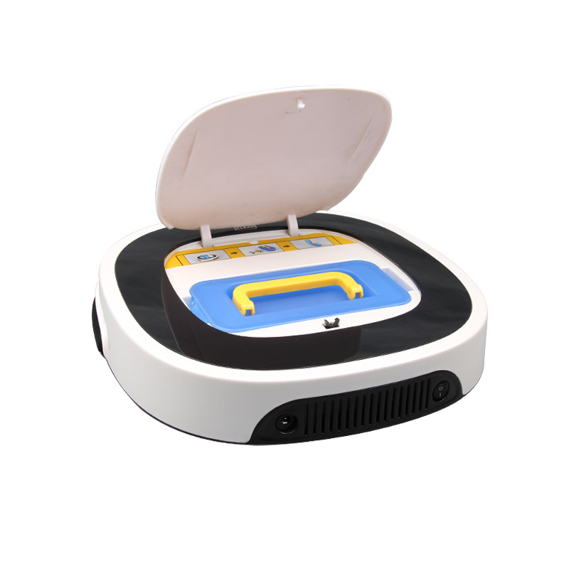 NEW Arrival D5501 Auto Sweeping Vacuum Wet and Dry Mop Vacuum Cleaner Robot With 180ml Water Tank 15 degrees easy to cross(China (Mainland))