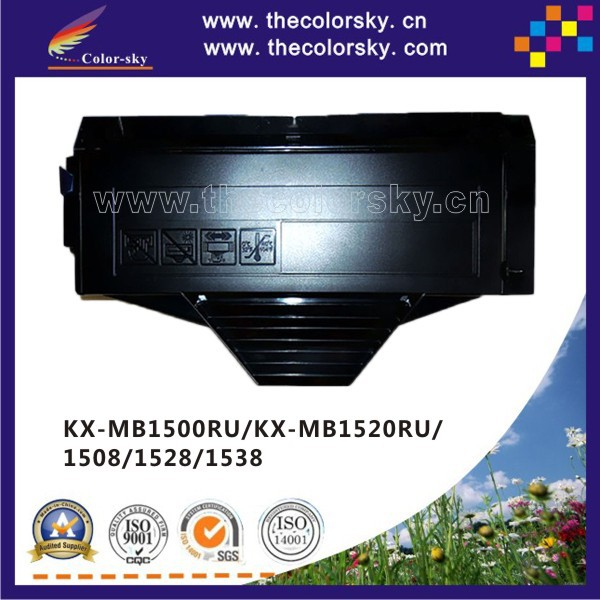 (CS-PFAT410) compatible toner cartridge for panasonic KX-MB 1500RU 1520RU 1508 1528 1538 KX-FAT 407 408 410 bk 2.5k free FedEX<br><br>Aliexpress