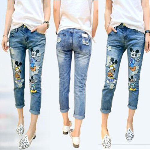 Ripped Girls Jeans
