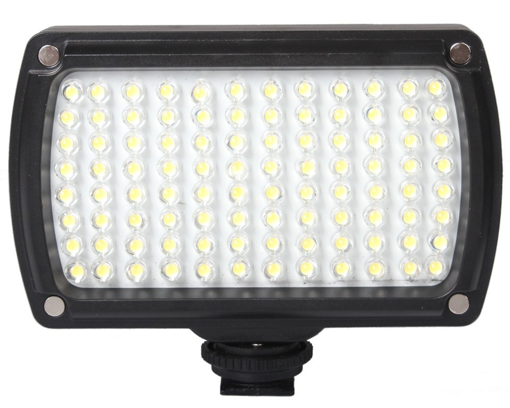 96 LED 9W Photo Camera Video Hotshoe LED Lamp Lighting for Camcorder DSLR Wedding(China (Mainland))