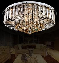 modern crystal ceiling lights for living room led ceiling lamps for home master room flush mount ceiling light crystal hanging(China (Mainland))