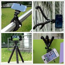 Colori supporto del telefono treppiedi flessibile del polipo basamento della staffa di montaggio monopiede regolabile go pro accessori per cellulare samsung fotocamera(China (Mainland))