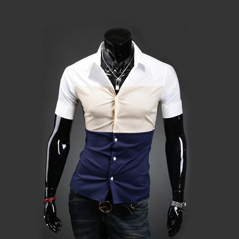 Free shipping 2013 new mens t shirt men s fashion brand for Good mens dress shirts