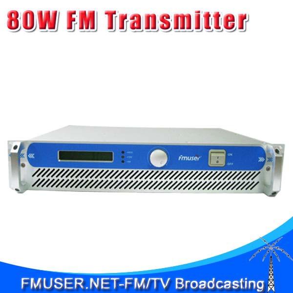 FMUSER FSN-801 80W 2UProfessional FM Broadcast Radio Transmitter 87.5-108 MHz(China (Mainland))
