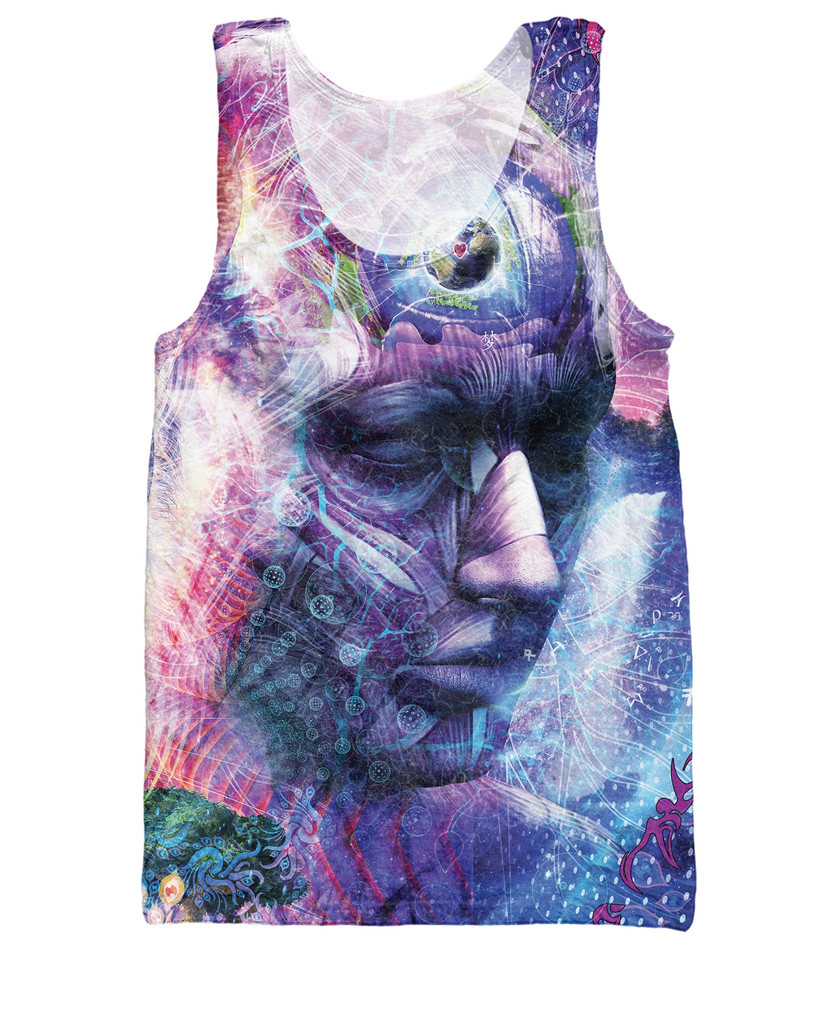 The Beauty of it All Tank Top deeper look into the mind 3d Vest Women Men Summer Fashion Clothing Sport Tops Jersey Plus Size(China (Mainland))