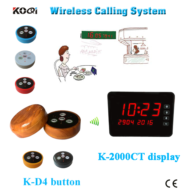 Ycall brand portable coffee shop waiter calling system(China (Mainland))