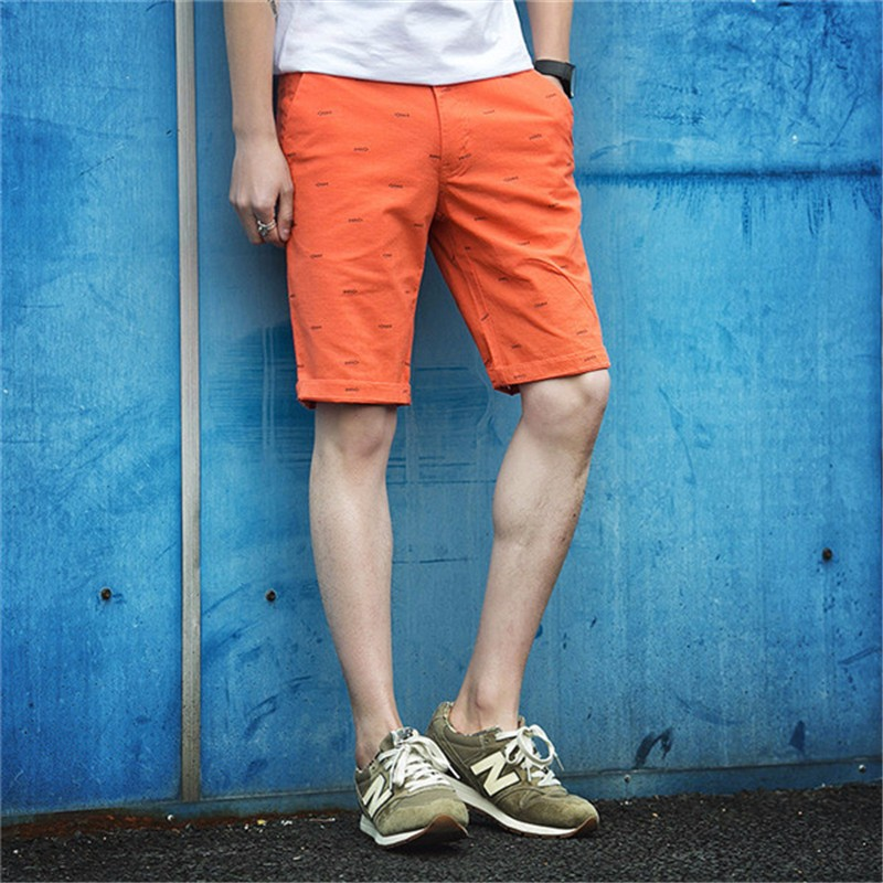 2016 Hot Sale Gym-Clothing Mens Shorts Summer  Fashion Slim Fit Mens Shorts Solid Colors Running Shorts Men