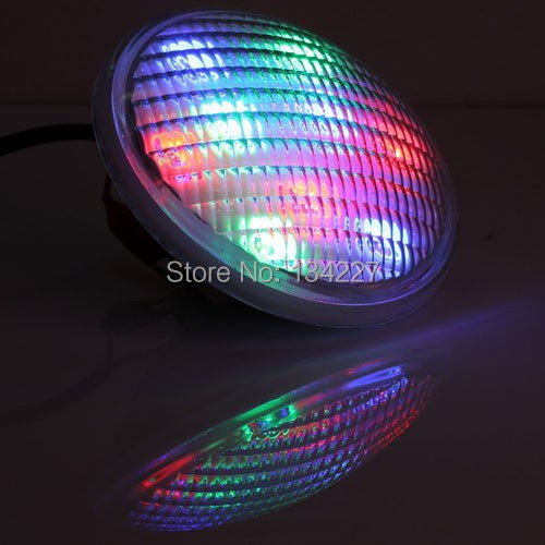 Factory Direct sale IP68 led pool light 54W RGB Stainless Steel Par56 underwater/swimming lamp Par56 Lights AC12-24V CE FCC&ROHS(China (Mainland))
