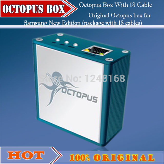 100% Original Octopus box for Samsung with 18 cables(China (Mainland))