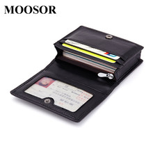 Buy 2017 New Genuine Leather Women Men ID Card Holder Card Wallet Purse Credit Card Business Card Holder Protector Organizer DC164 for $8.99 in AliExpress store