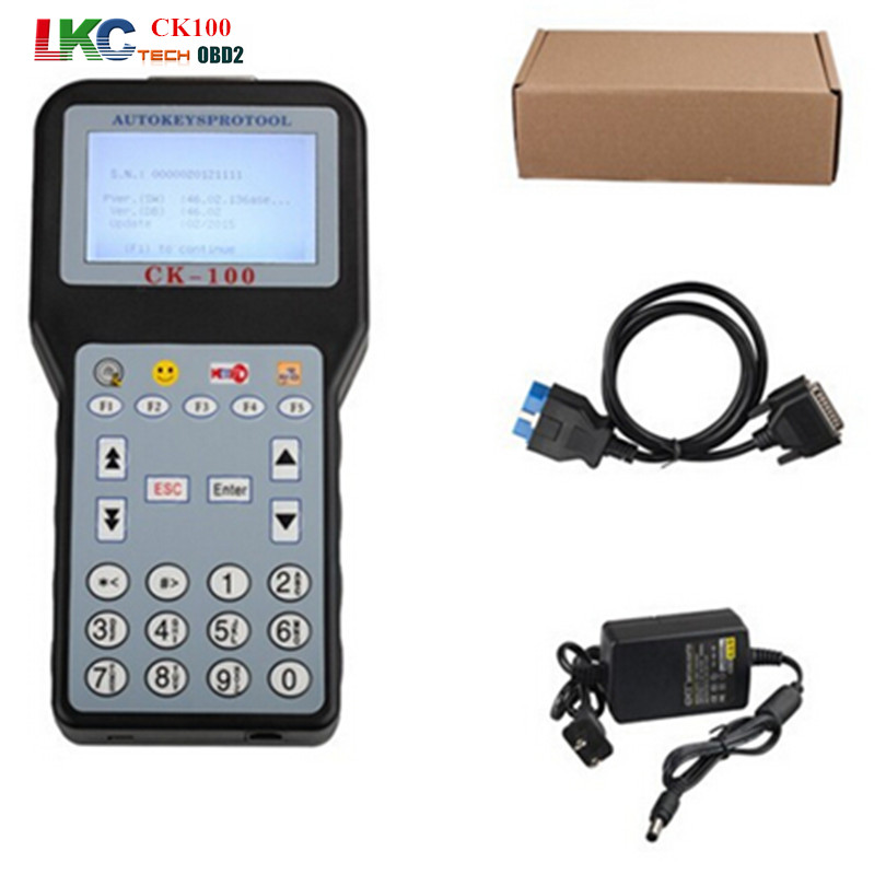 Best Auto Key Programmer CK100 No Tokens Limited CK-100 Car Key Maker V99.99 Latest Generation of SBB CK 100 With 7 Language(China (Mainland))
