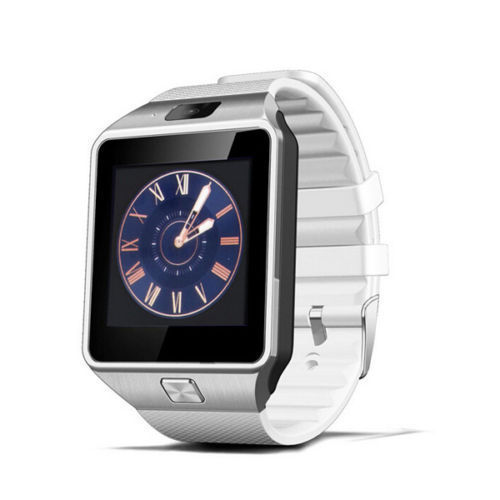 Newest Bluetooth Smart Watch DZ09 wristwatches Cell Phone Camera SIM card anti-lost touch screen sport health watch White(China (Mainland))