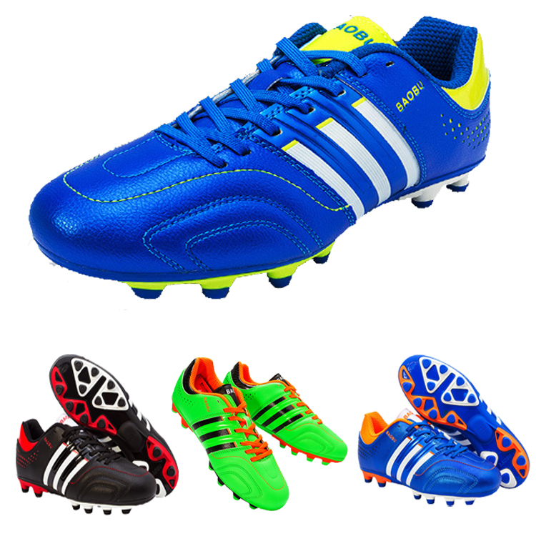 Top Fast 2015 Mens Soccer Shoes Football Shoes Leo Messi Higuain Robben Soccer Cleats(China (Mainland))