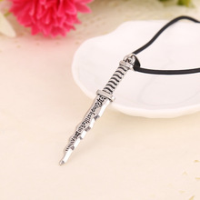 Snow White necklace vintage Once Upon A Time Dwarf Rumpelstiltskin Dagger pendant jewelry for men and women wholesale(China (Mainland))