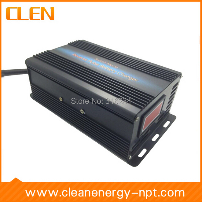 12V Car Battery Charger 10A 50-100Ah Lead Acid Battery Charger Battery Maintenance Desulfation Charger(China (Mainland))