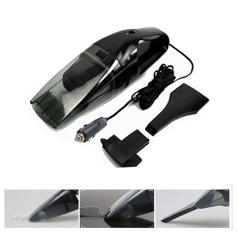 2015 Hot New 12V 75W Vehicle Car Wet Dry Handheld Portable Rechargeable Dust Vacuum Cleaner(China (Mainland))